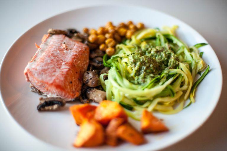 Healthy gluten-free dinner