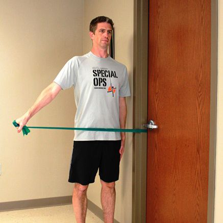 Rotator Cuff Exercises With A Resistance Band