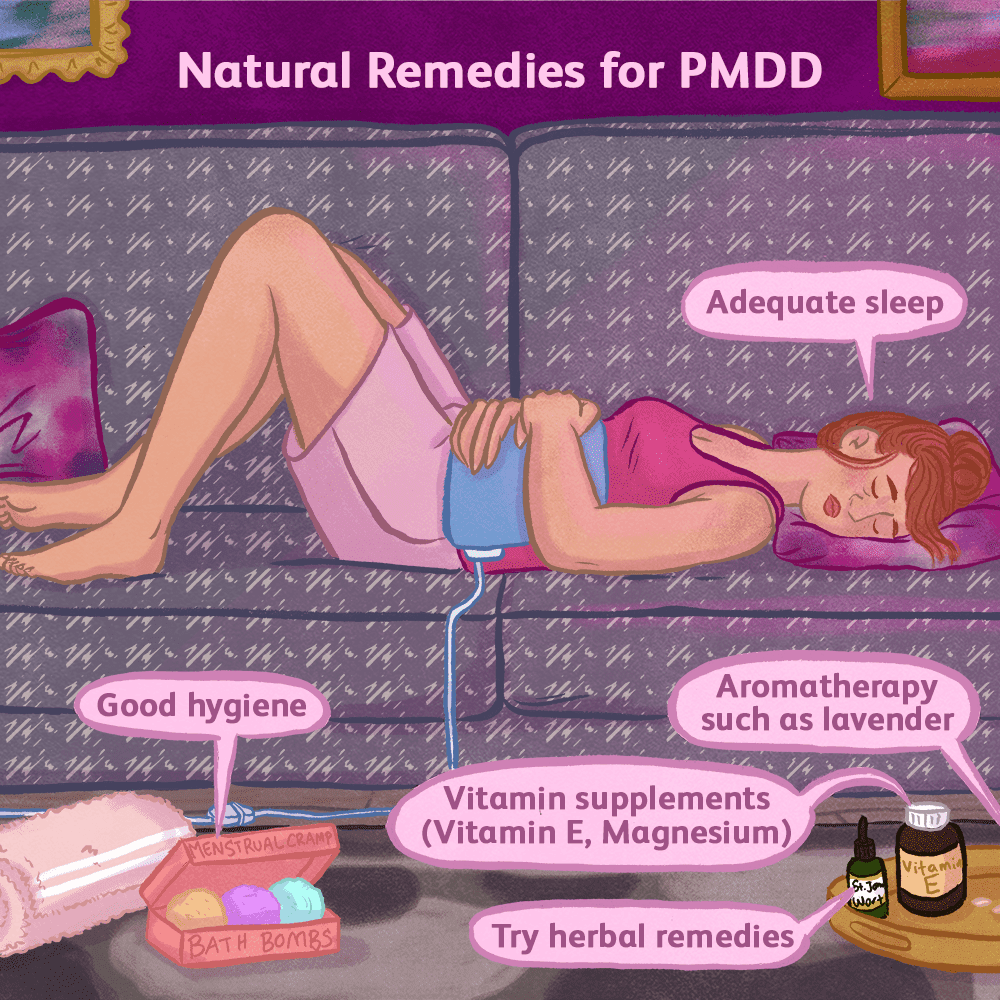 How Is Premenstrual Dysphoric Disorder Treated?