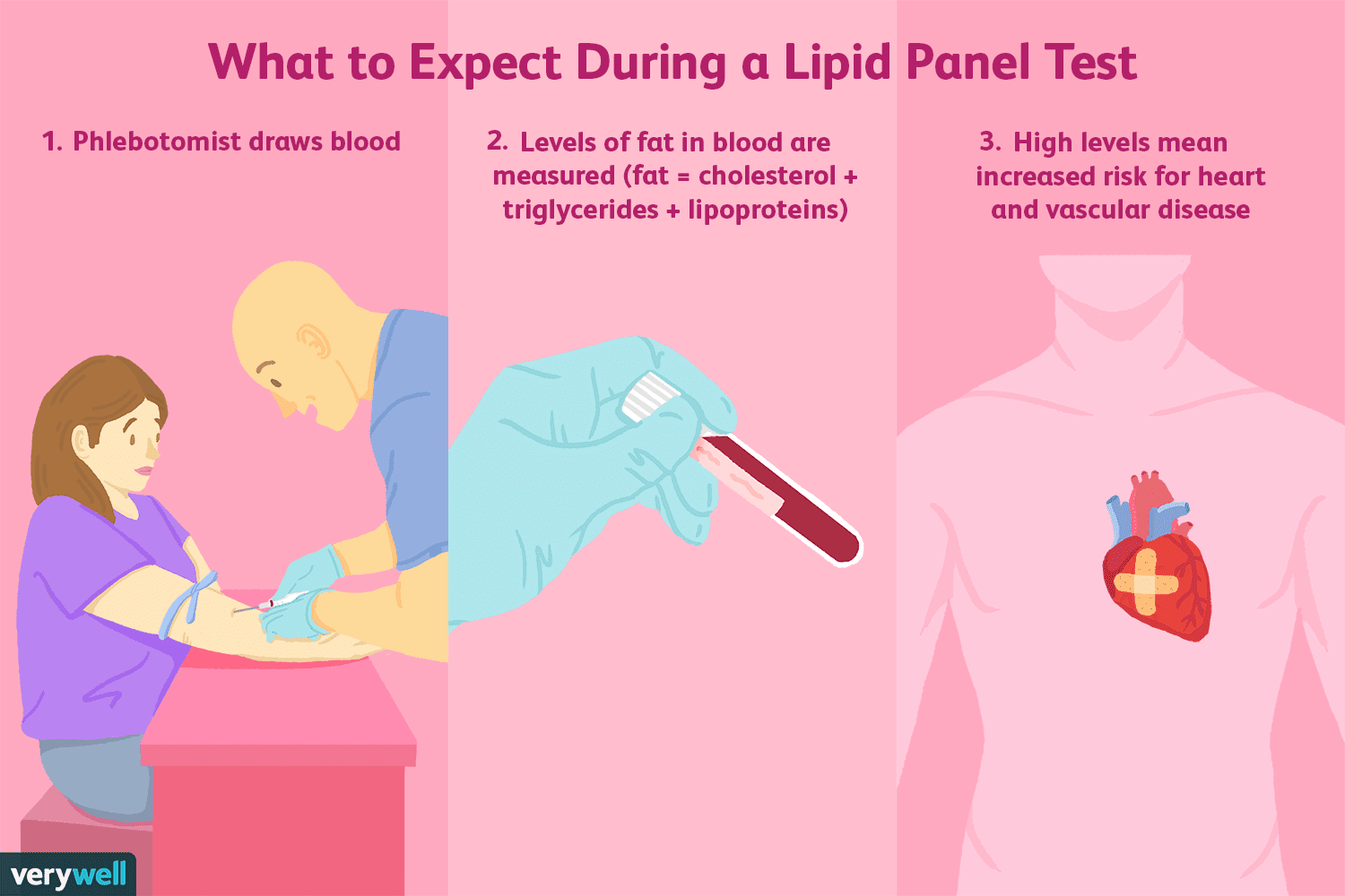 what to expect during a lipid panel test