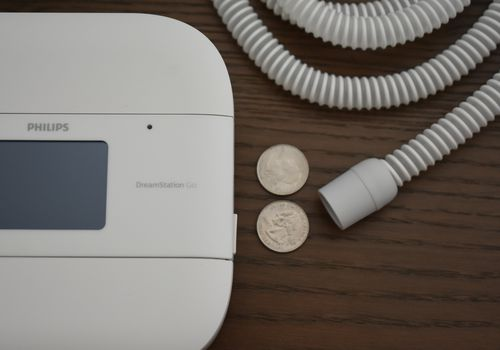 Travel CPAP options include DreamStation Go from Philips Respironics
