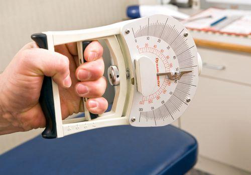 Hand grip strength measurer