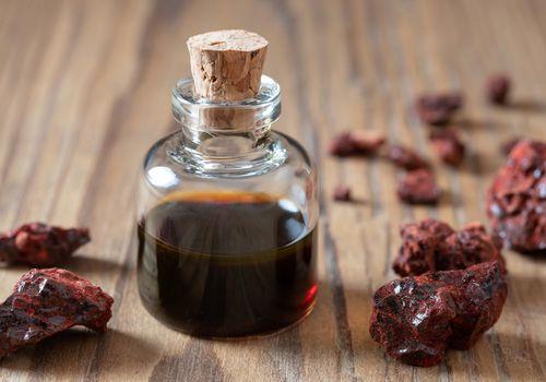 Croton lechleri oil in a bottle