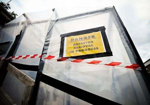 Asbestos removal danger as it is a known carcinogen