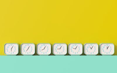 How Zeitgeber Time Signals Reset Sleep, Internal Clock