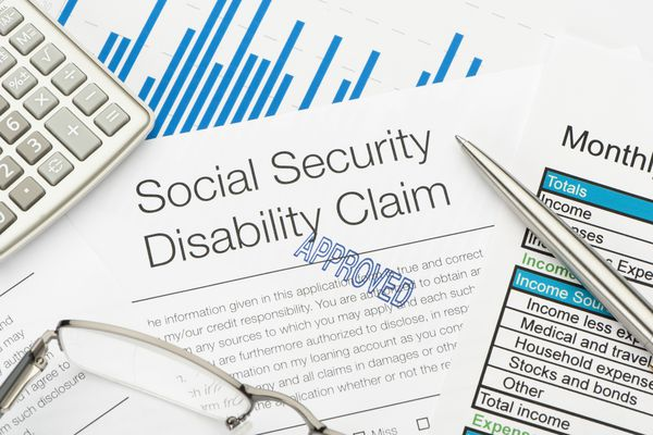 Approved Social Security Disability Claim Form