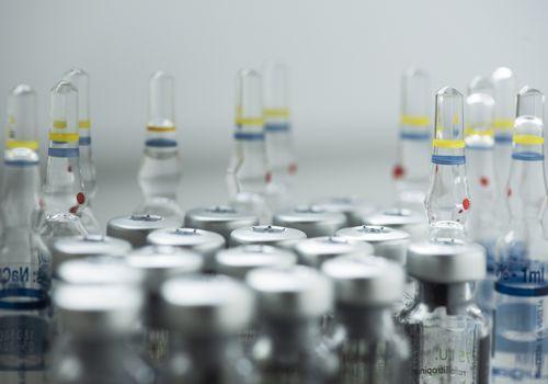 vaccine vials