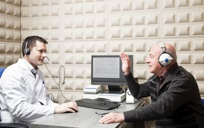 Computer aided hearing test