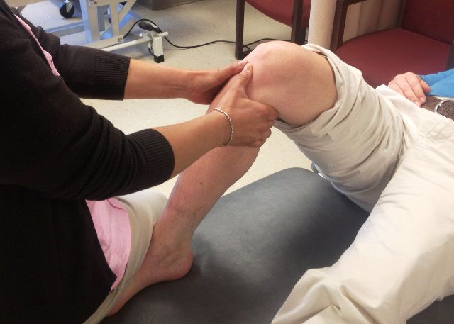 An ACl tear may be confirmed with the Anterior Drawer Test.