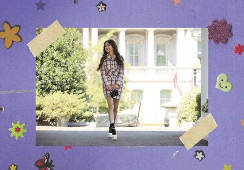 Olivia Rodrigo heading into the White House.
