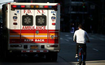 New York City ambulance.