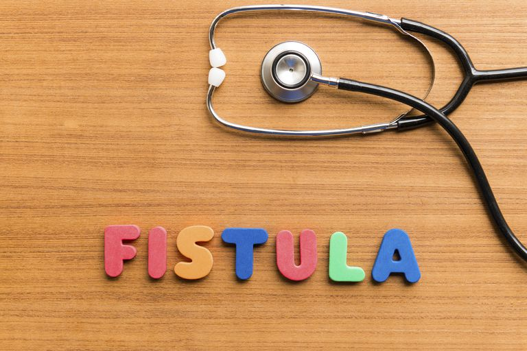 stethoscope next to word fistula