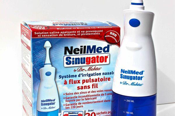 NeilMed Sinugator can help clear sinus congestion