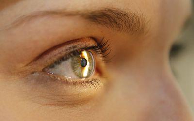 Slit lamp eye exam