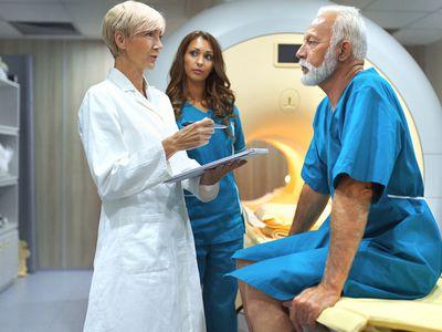 MRI scanning procedure