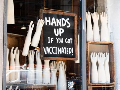 Hands up if you got vaccinated