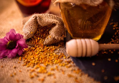 propolis and honey