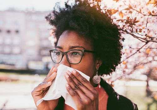 Allergic asthma or rhinosinusitis triggered by allergens
