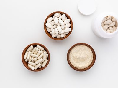 Pancreatin capsules, tablets, and powder
