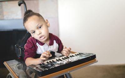 Music therapy can be beneficial for athetosis