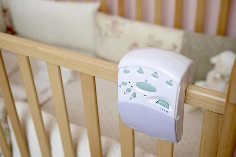 A baby monitor that vibrates or flashes lights allow parents with hearing loss to know when the baby needs them.
