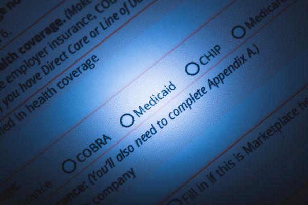 Medicaid form