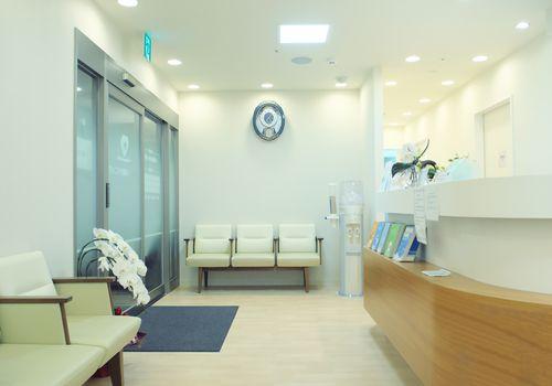 Hospital reception