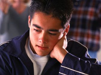 Frustrated Teen