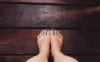 Feet Of A Woman