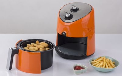 air fryer with french fries