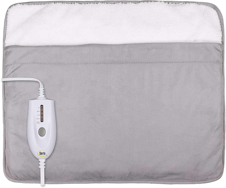 Serta Ultra Soft Plush Electric Heated Warming Pad