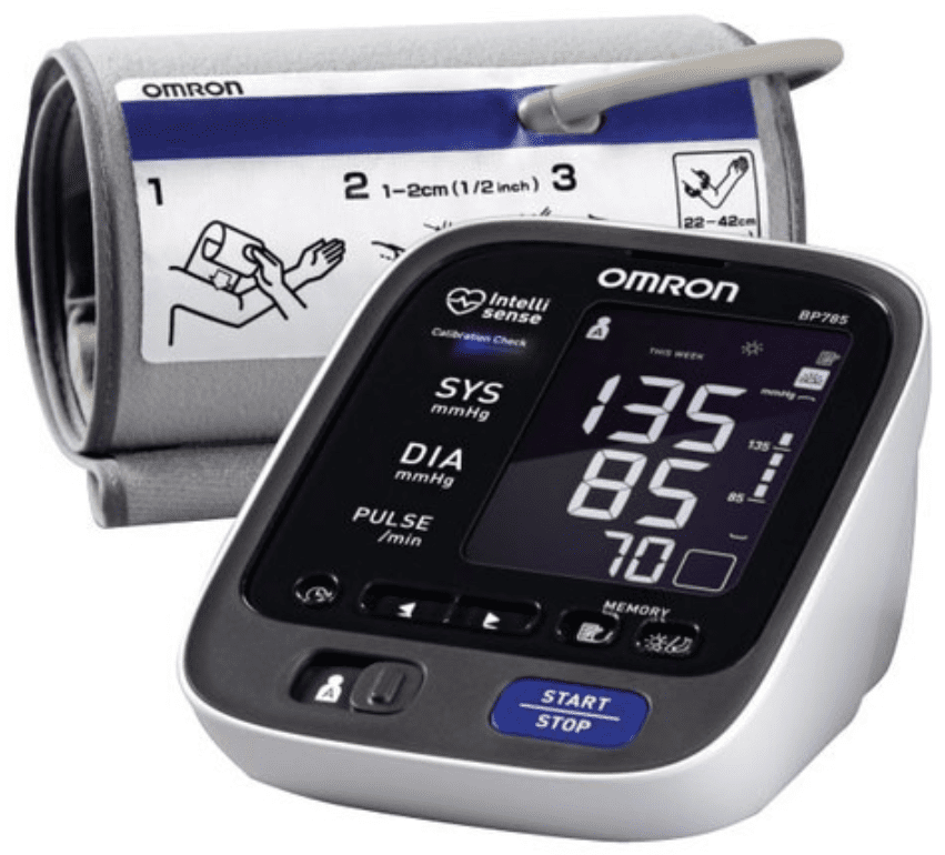 Electronic Blood Pressure Cuff >> The 6 Best Blood Pressure Monitors Of 2019