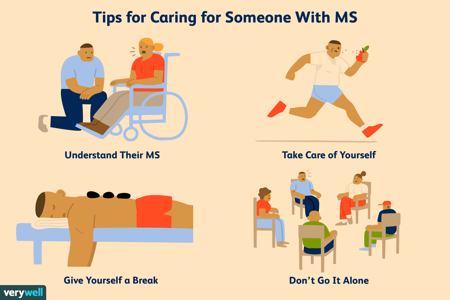 Tips for Caring for Someone With MS