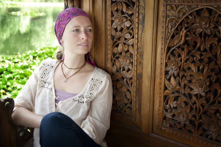 woman with metastatic HER2 positive breast cancer thinking about treatments