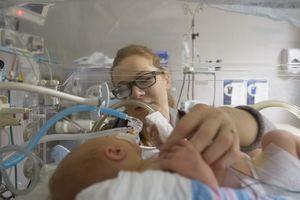 a premature baby in NICU