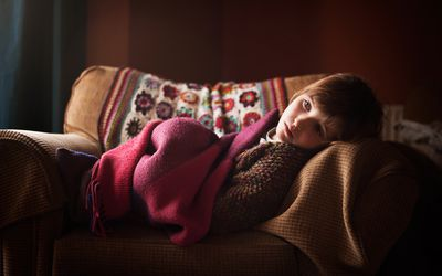 Girl with Rett Syndrome