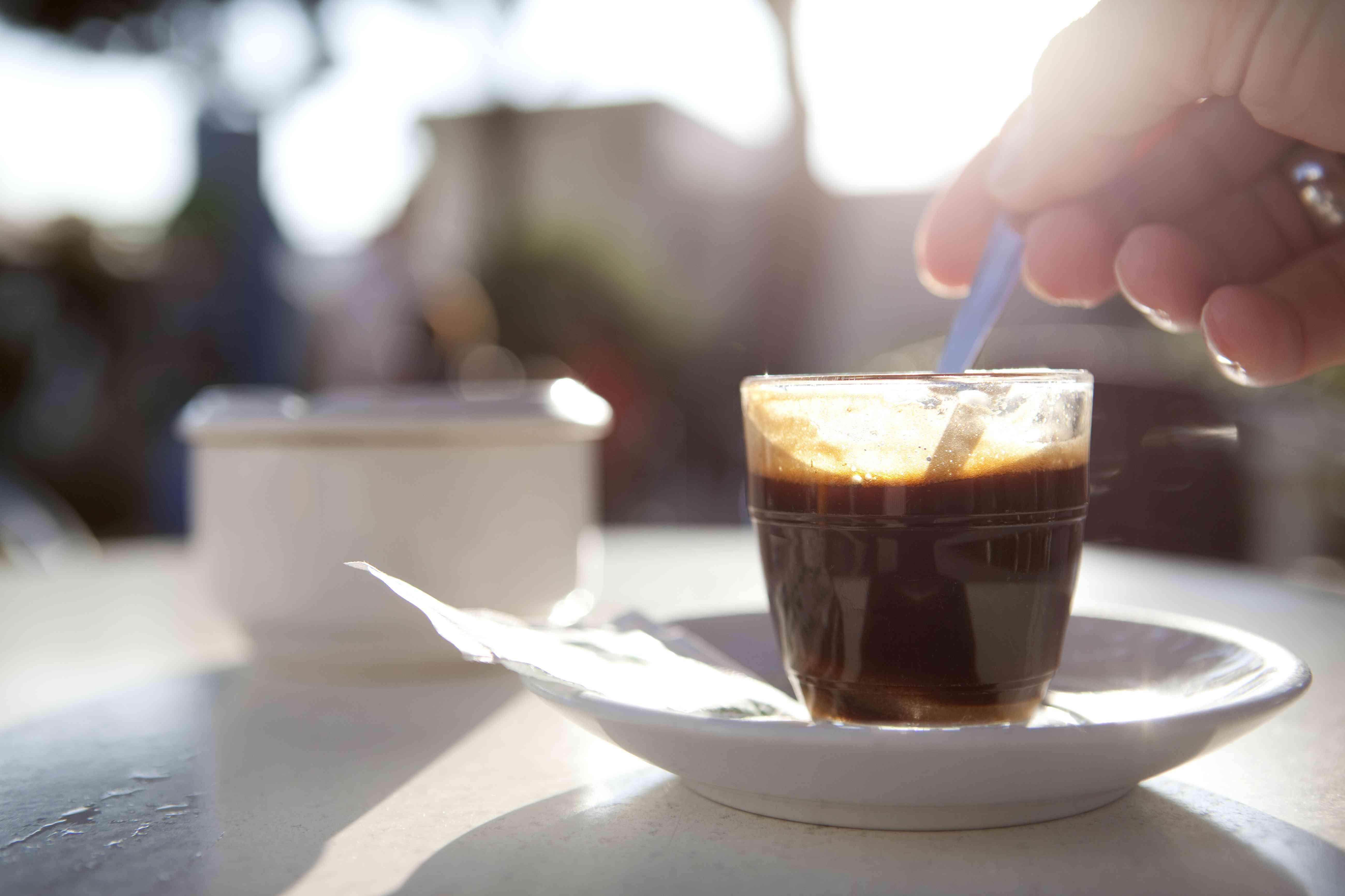 small shot of espresso