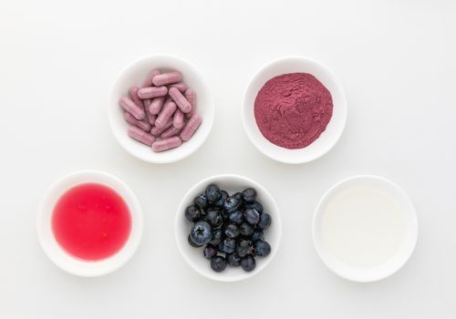 Blueberries, capsules, tincture, powder, and extract