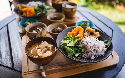 Okinawa Blue Zone breakfast