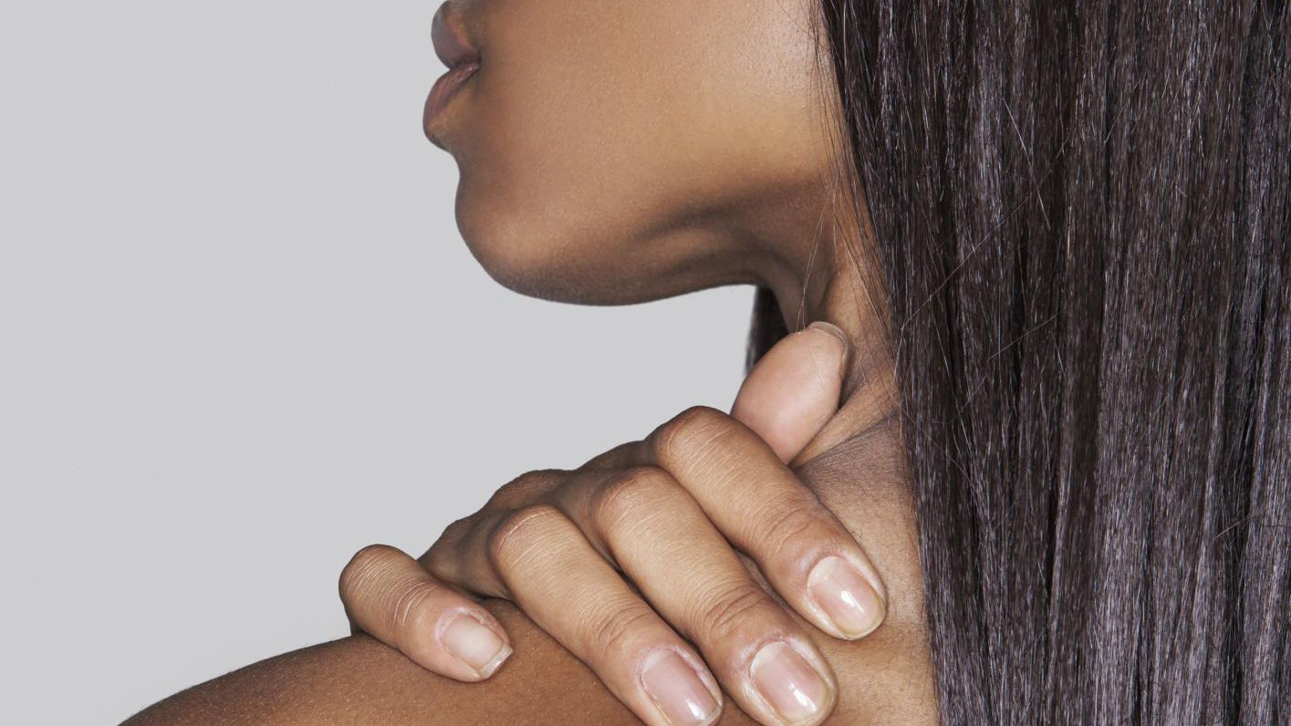 Massage Your Trapezius Muscle Yourself