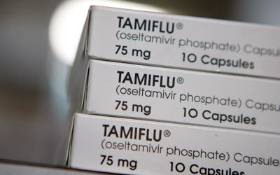 boxes of tamiflu