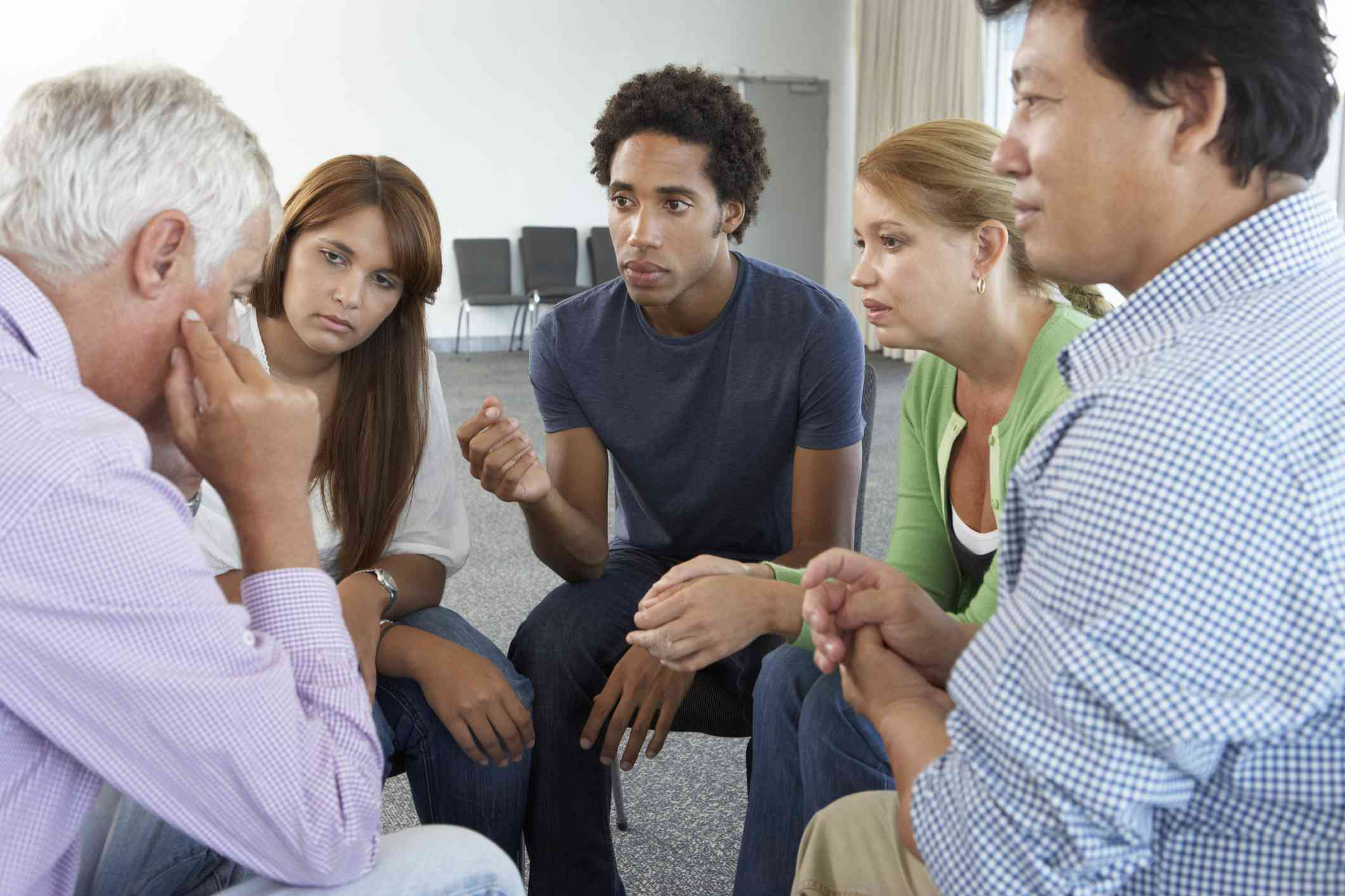 A support group focused on a man's issue