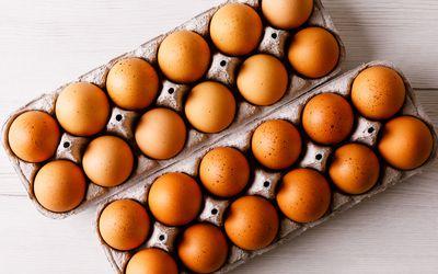 Two dozen eggs