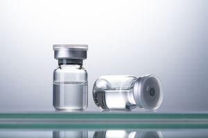 two vaccine vials
