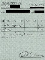 Read Your Eyeglass Prescription - Numbers and Symbols
