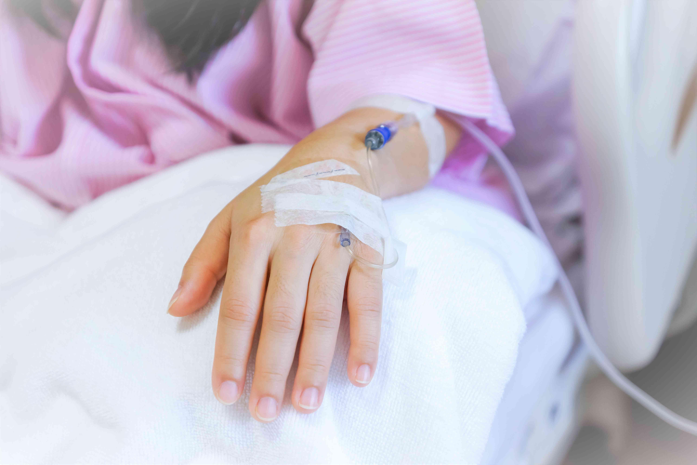Saline intravenous (iv)