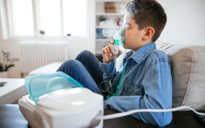 Inhalating at home