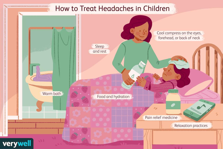 Hot to Treat Headaches in Children