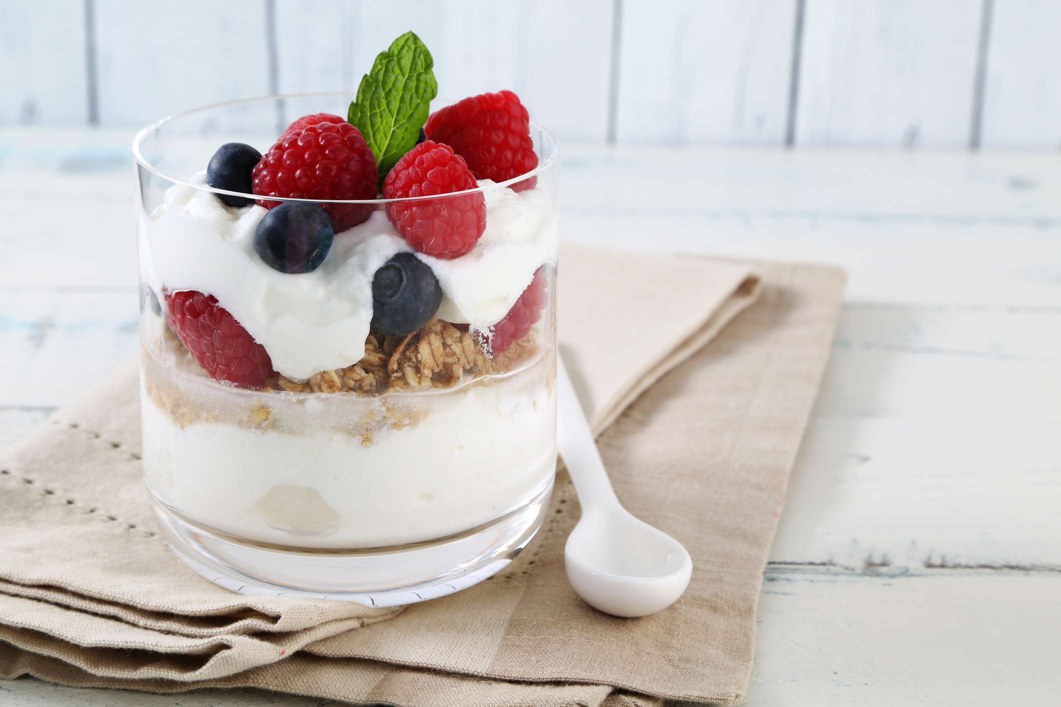 Greek Yogurt and Fruit