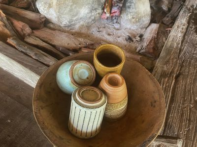 old ceramic pottery